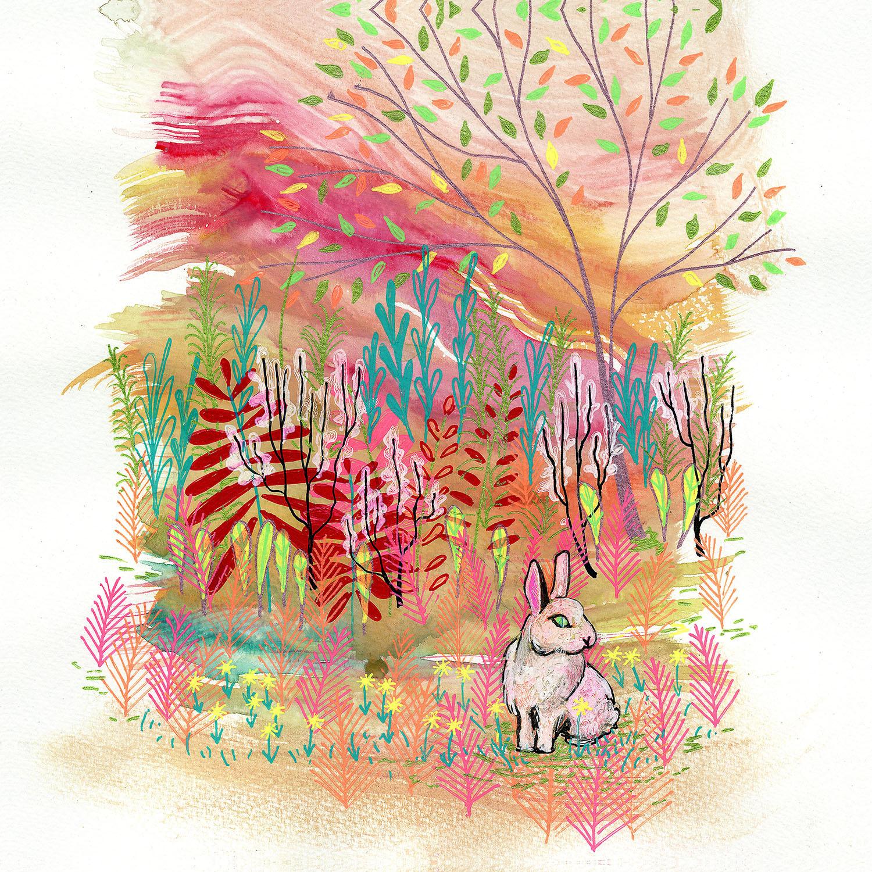DiaNoche Designs Artist | Aja Ann - Cotton Tail