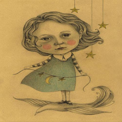 DiaNoche Designs Artist   Amalia K - Adora in the Sky