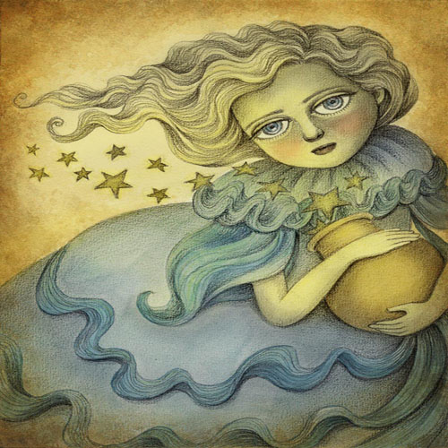 DiaNoche Designs Artist | Amalia K - Andromeda the Stars Keeper