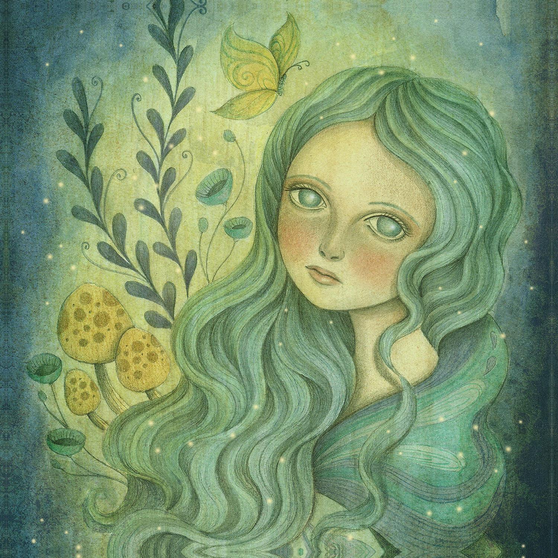 DiaNoche Designs Artist | Amalia K. - Butterfly Queen
