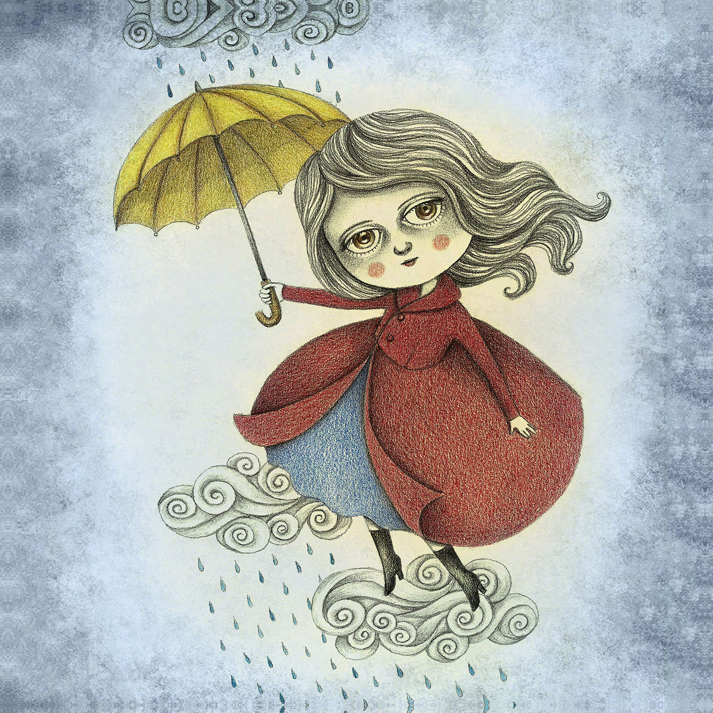 DiaNoche Designs Artist   Amalia K. - Cloud Dancing