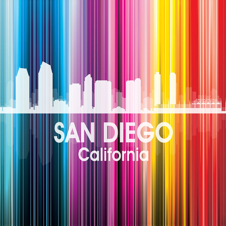 DiaNoche Designs Artist | Angelina Vick - City II San Diego California