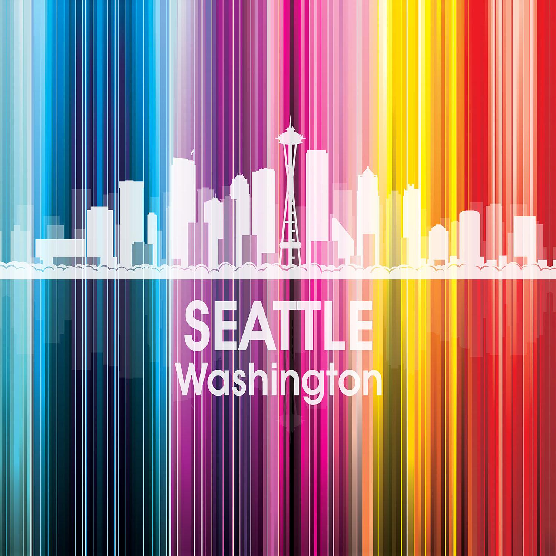 DiaNoche Designs Artist | Angelina Vick - City II Seattle Washington