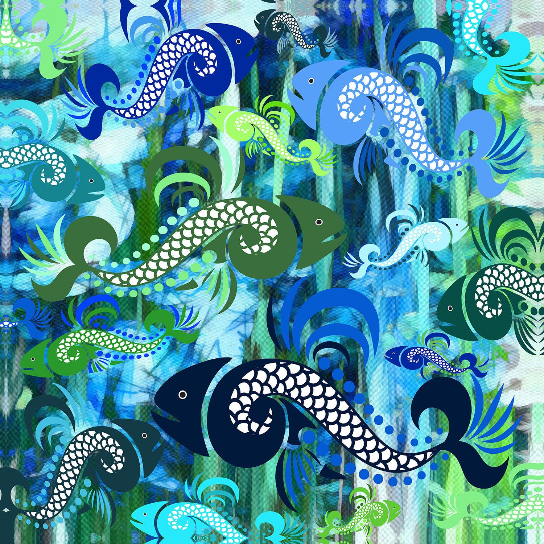 DiaNoche Designs Artist | Angelina Vick - Plenty of Fish in the Sea I