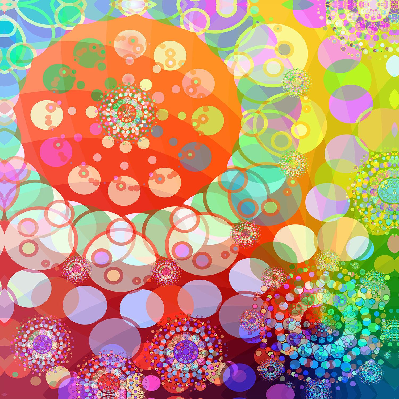 DiaNoche Designs Artist | Angelina Vick - Merry Go Round Spinning