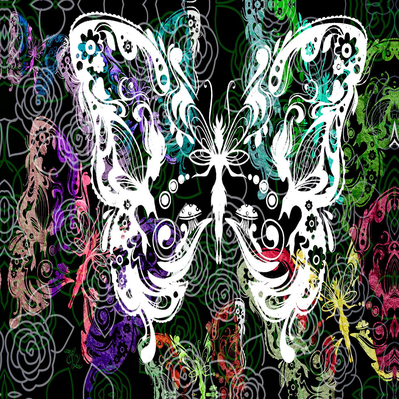 DiaNoche Designs Artist | Angelina Vick - Seven Butterflies
