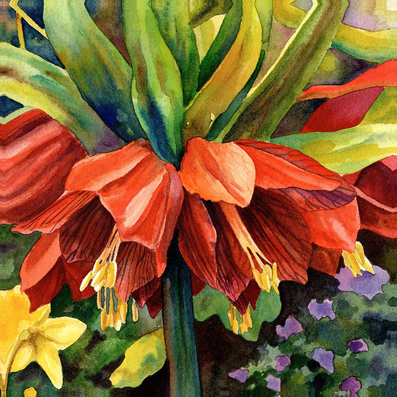 DiaNoche Designs Artist | Anne Gifford - Fritillaria