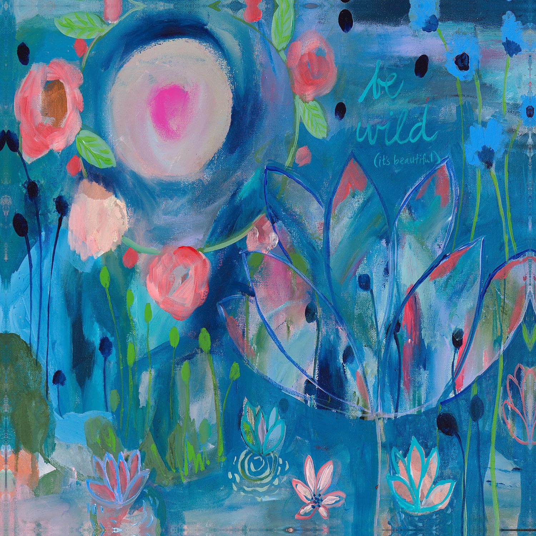 DiaNoche Designs Artist   Carrie Schmitt - Be Wild
