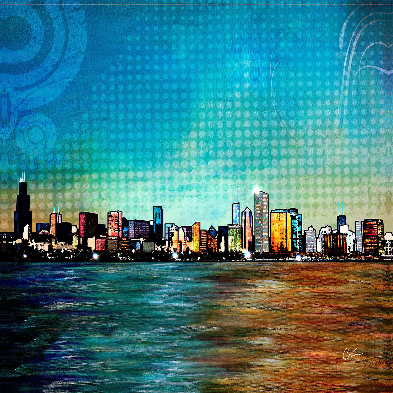 DiaNoche Designs Artist | Corina Bakke - Chicago Skyline