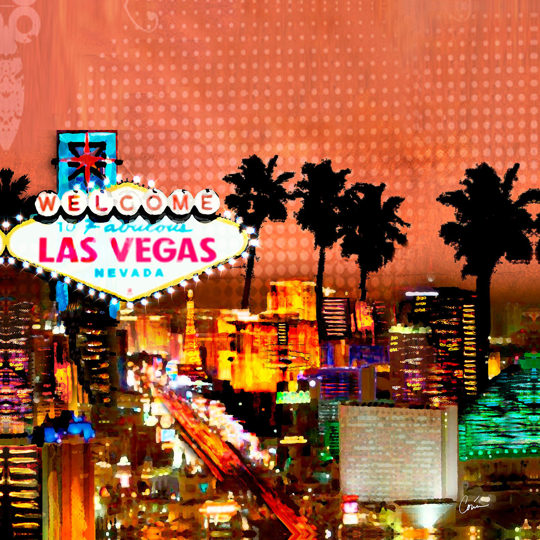 DiaNoche Designs Artist | Corina Bakke - Las Vegas Skyline