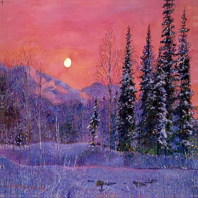 DiaNoche Designs Artist | David Lloyd Glover - Rising Snow Moon