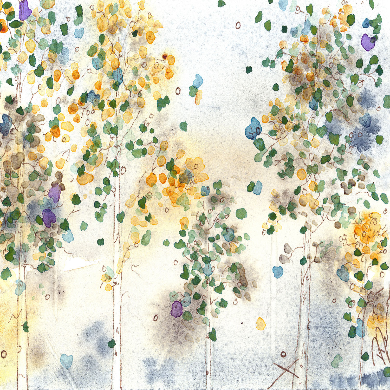 DiaNoche Designs Artist | Dawn Derman - Aspen Grove