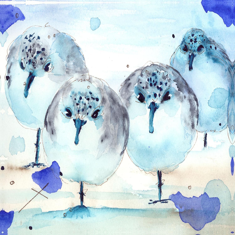 DiaNoche Designs Artist | Dawn Derman - Meet the Sanderlings