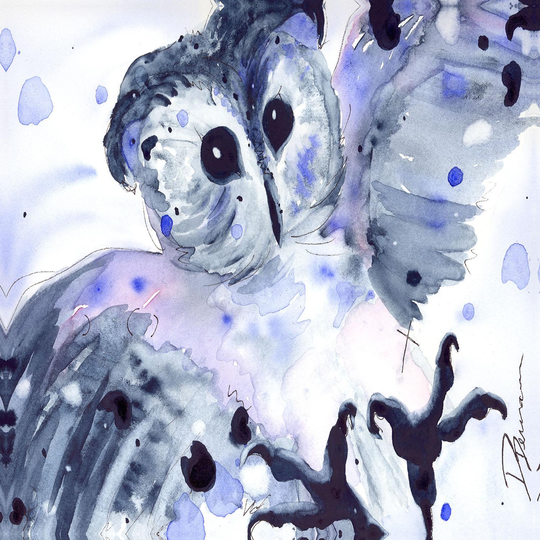 DiaNoche Designs Artist | Dawn Derman - Midnight Owl