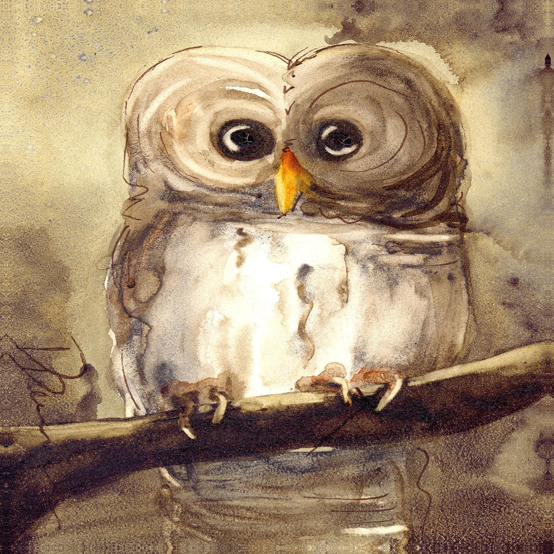 DiaNoche Designs Artist | Dawn Derman - Redbird Cottage Owl