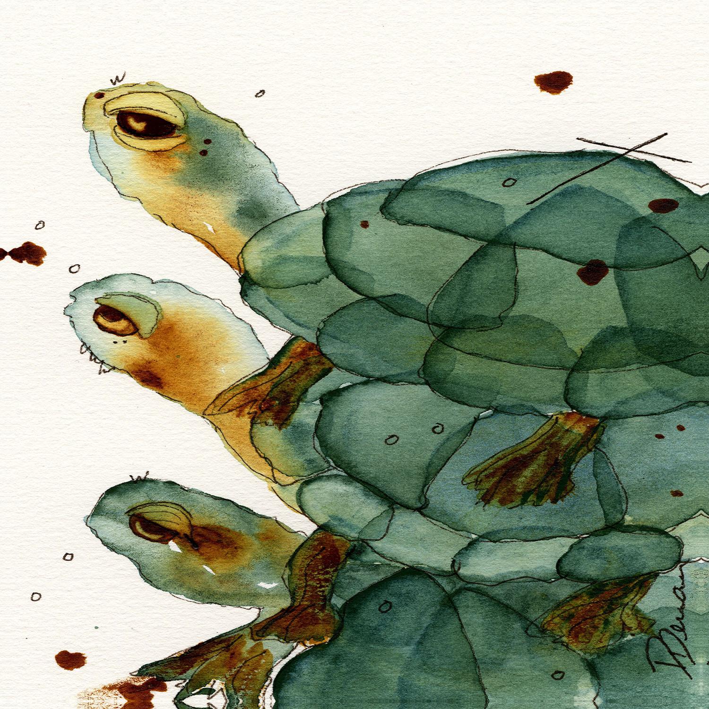 DiaNoche Designs Artist | Dawn Derman - Turtle Crush