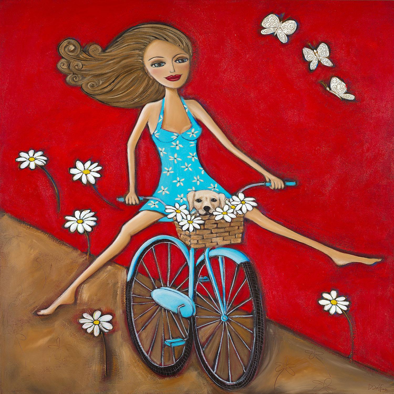 DiaNoche Designs Artist | Denise Daffara - One Fun Spring Day