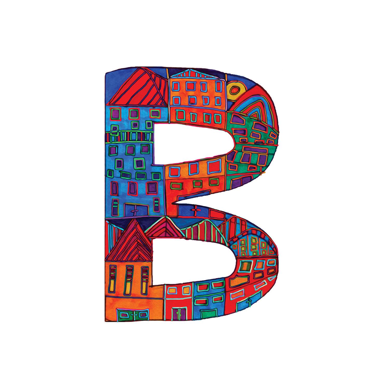 DiaNoche Designs Artist | Dora Ficher - Alphabet Letter B