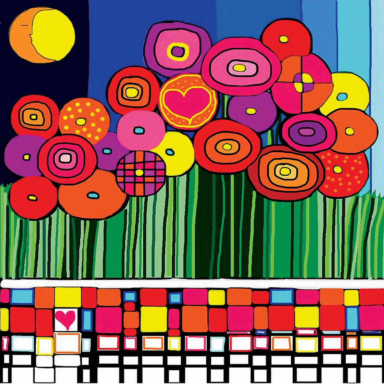 DiaNoche Designs Artist | Dora Ficher - Poppy Love