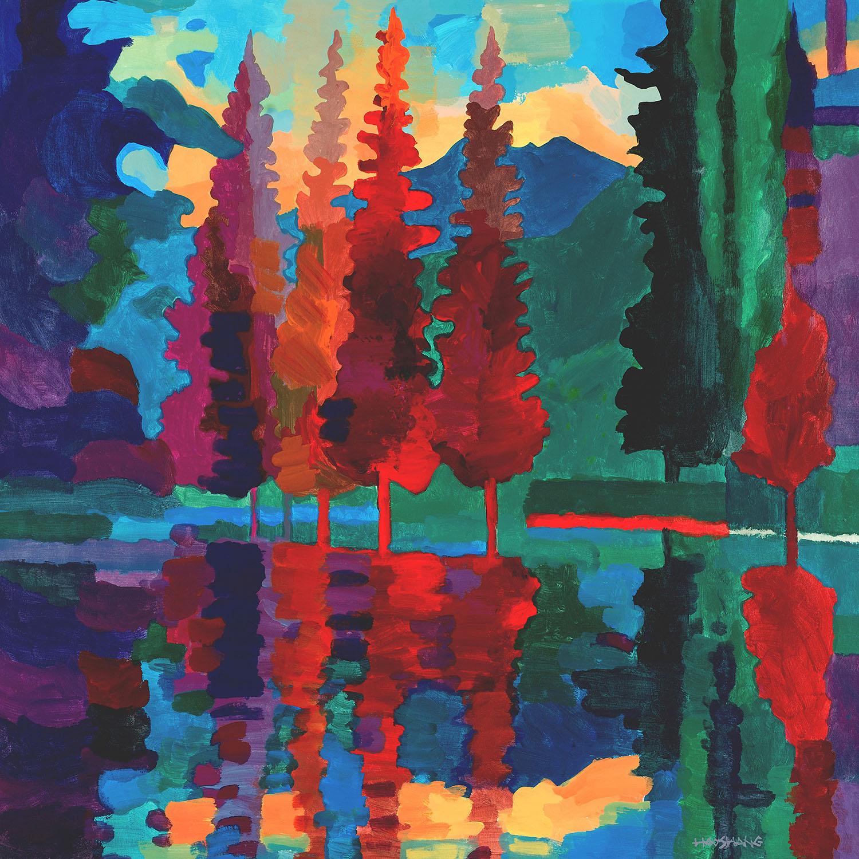 DiaNoche Designs Artist | Hooshang Khorasani - Colorado Sunset