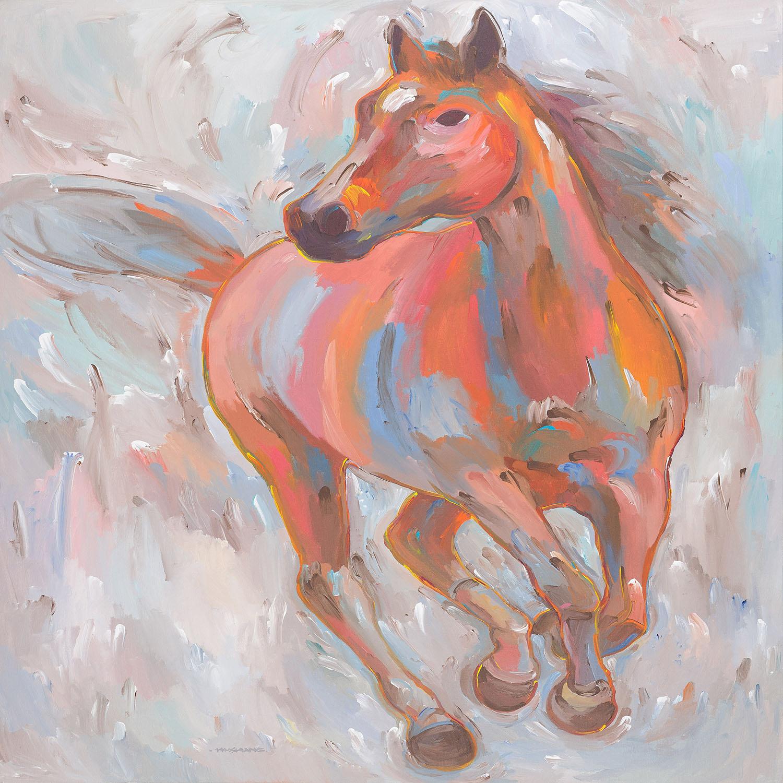 DiaNoche Designs Artist | Hooshang Khorasani - Equine Elegance I Horse