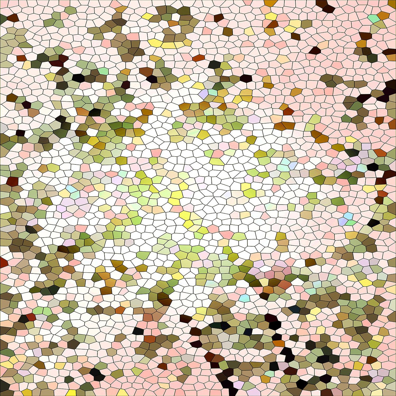 DiaNoche Designs Artist   Iris Lehnhardt - Mosaic Veil Pastel