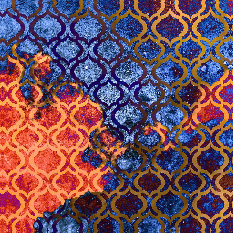 DiaNoche Designs Artist   Iris Lehnhardt - Sky Pattern I