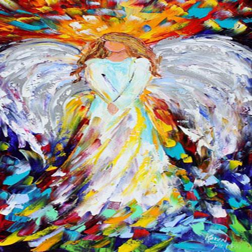 DiaNoche Designs Artist | Karen Tarlton - Angel of Hope and Light