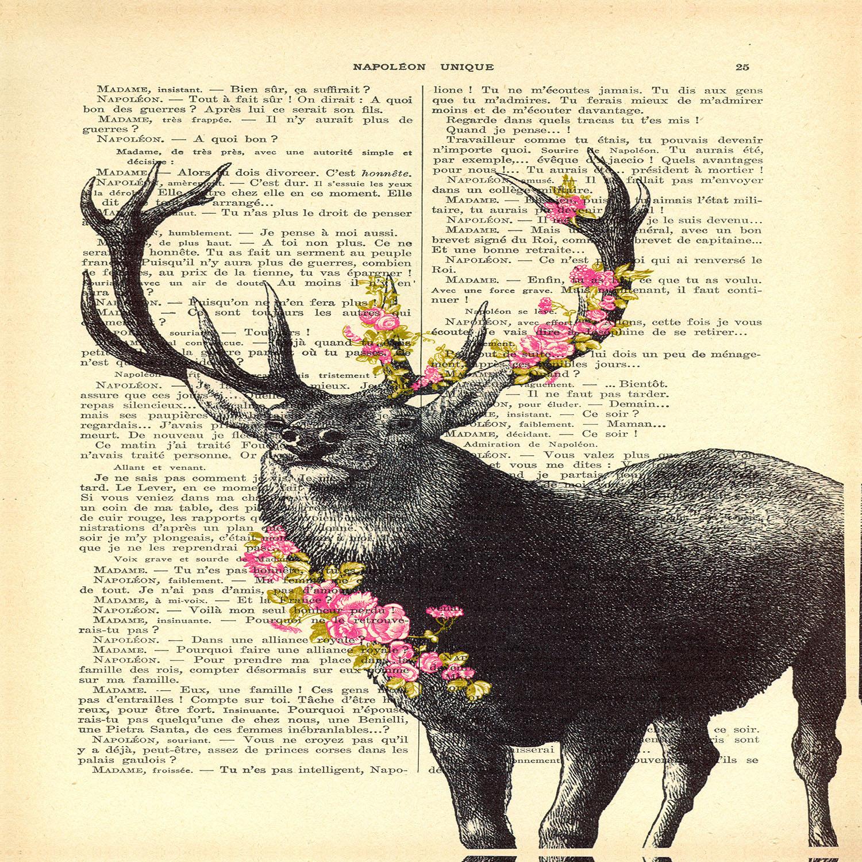 DiaNoche Designs Artist | Madame Memento - Deer Blossom