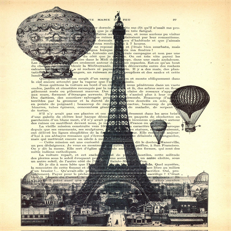 DiaNoche Designs Artist | Madame Memento - Eifel Tower