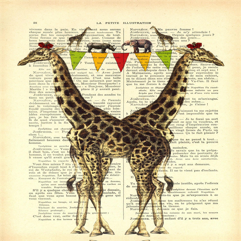 DiaNoche Designs Artist | Madame Memento - Giraffes