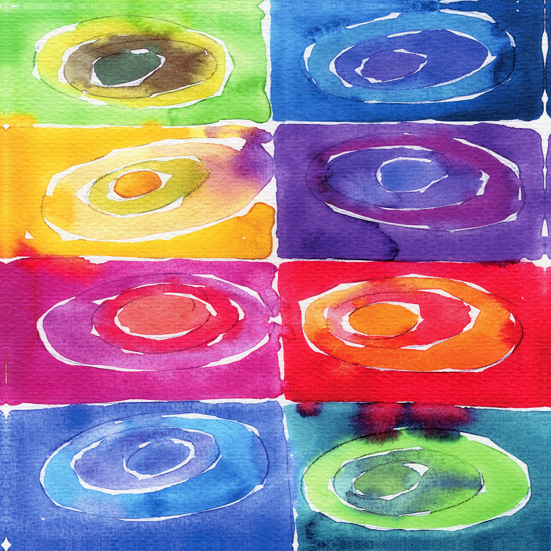 DiaNoche Designs Artist   Marley Ungaro - Artsy Rainbow Box