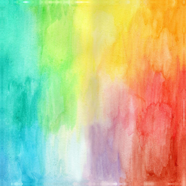DiaNoche Designs Artist   Marley Ungaro - Artsy Rainbow Wash