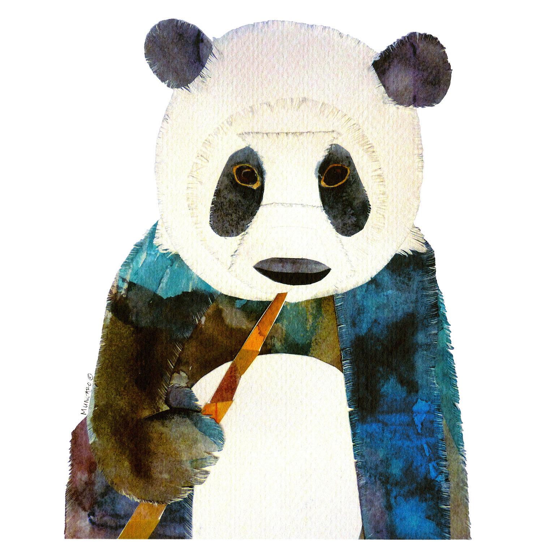 DiaNoche Designs Artist   Marley Ungaro - Panda