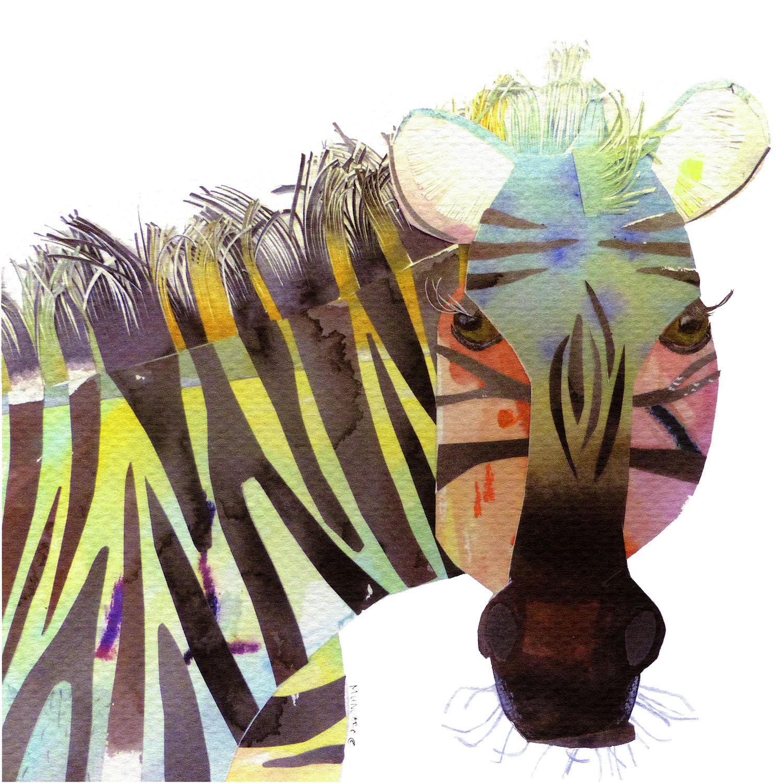 DiaNoche Designs Artist   Marley Ungaro - Zebra