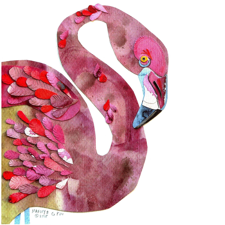 DiaNoche Designs Artist   Marley Ungaro - Flamingo