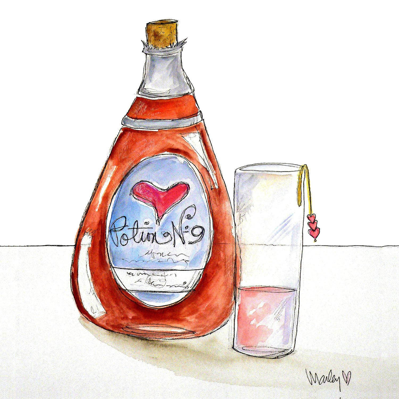 DiaNoche Designs Artist   Marley Ungaro - Love Potion No. 9