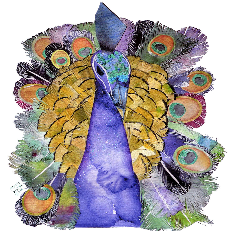 DiaNoche Designs Artist   Marley Ungaro - Peacock