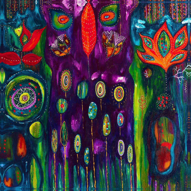 DiaNoche Designs Artist | Michele Fauss - The Believers Garden