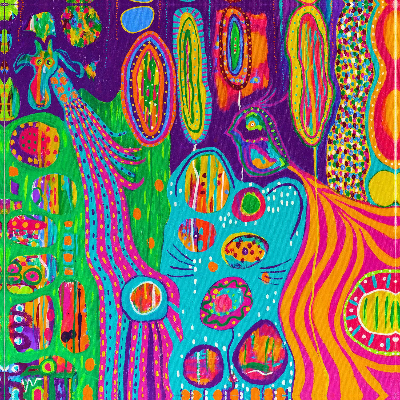 DiaNoche Designs Artist | Michele Fauss - The Creatures of Lollipop Land