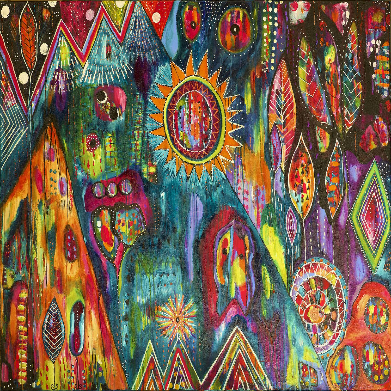 DiaNoche Designs Artist | Michele Fauss - Magic Mountain