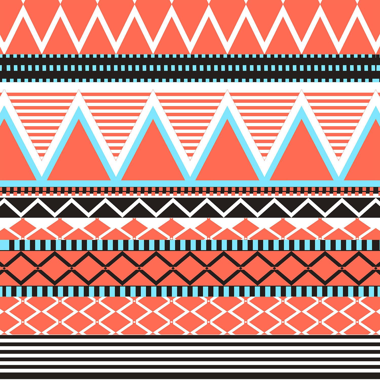 DiaNoche Designs Artist | Organic Saturation - Coral Tribal