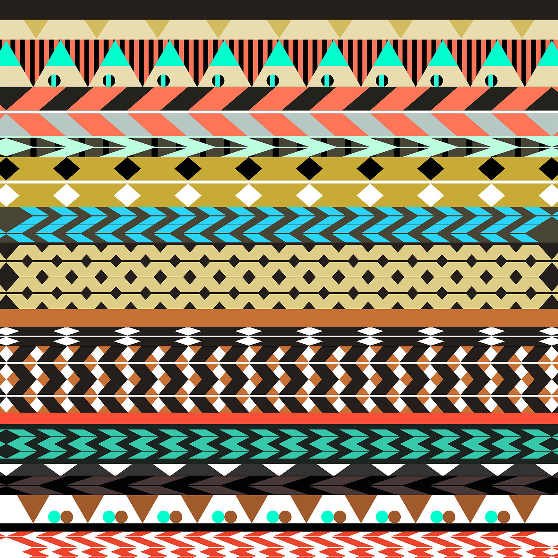 DiaNoche Designs Artist | Organic Saturation - Desert Aztec Pattern