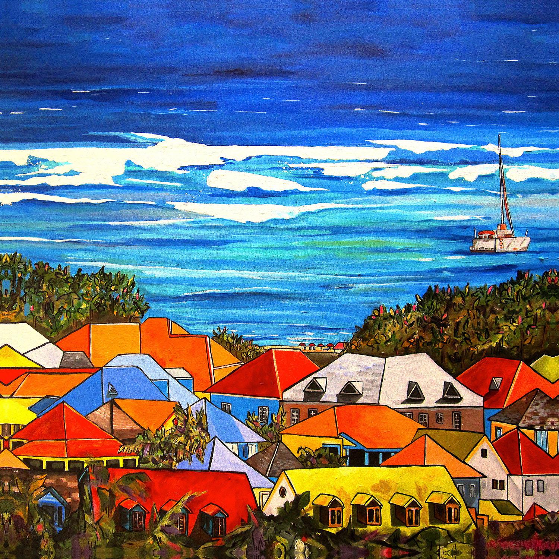 DiaNoche Designs Artist | Patti Schermerhorn - Colors of St. Martin