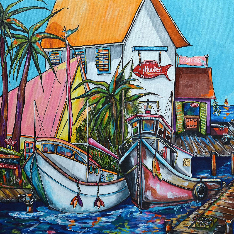 DiaNoche Designs Artist | Patti Schermerhorn - Just a Little Beach Town