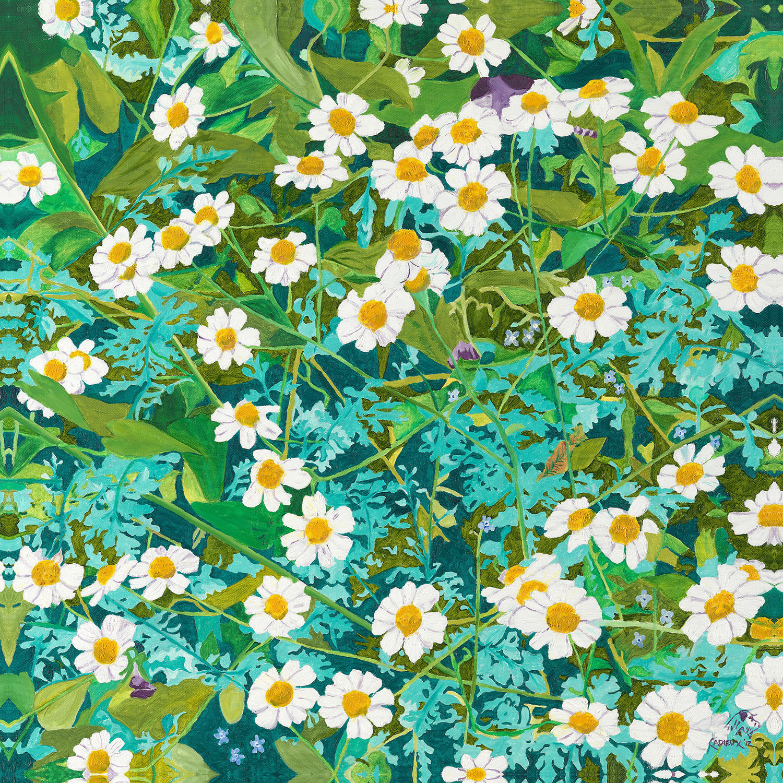 DiaNoche Designs Artist | Paul Cadieux - Cascade of Daisies