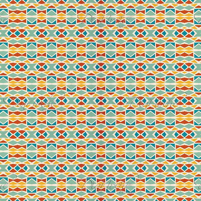 DiaNoche Designs Artist Ethnic Mosaic - Pom Graphic Design