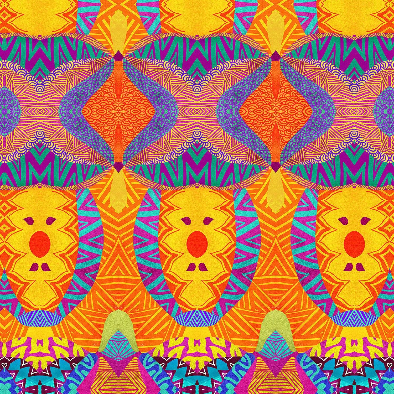 DiaNoche Designs Artist | Pom Graphic Design - Ethnic Sun I