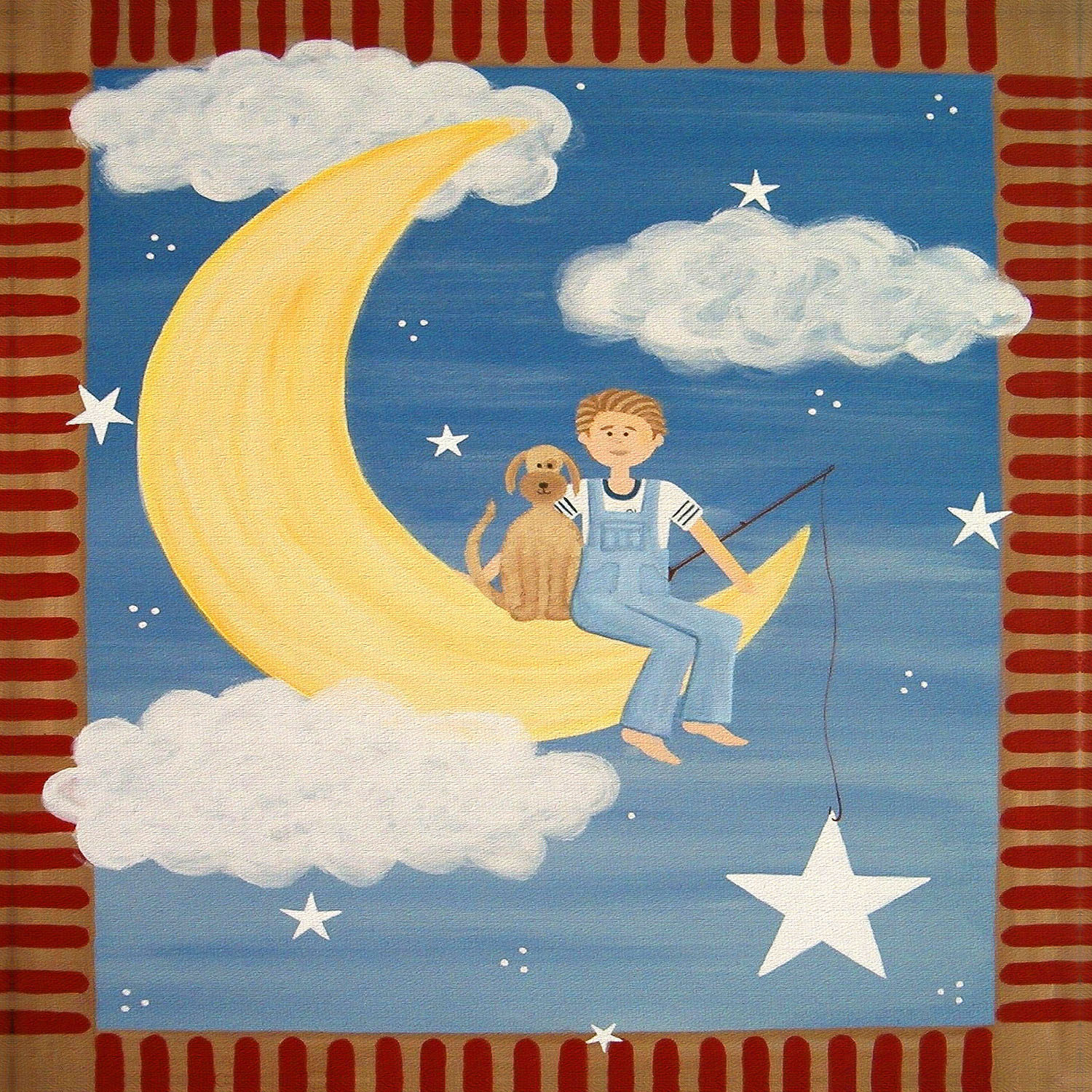 DiaNoche Designs Artist | Samantha Knops - Fly Me to the Moon