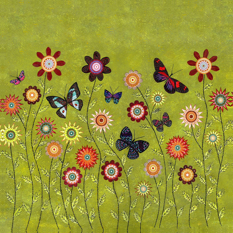 DiaNoche Designs Artist | Sascalia - Bohemian Butterflies